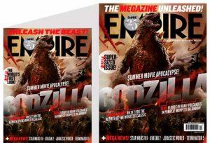 Il numero di Empire formato king-size per l'uscita del film Godzilla.